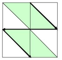 Курсовая работа на Pascal по обработке матриц (вариант 22)