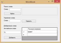 Англо-русский словарь на линейном двунаправленном списке